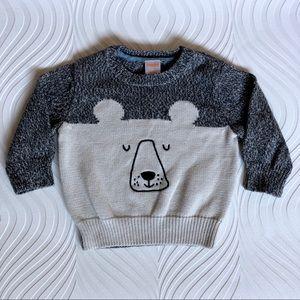 Gymboree Knitted Bear Sweater
